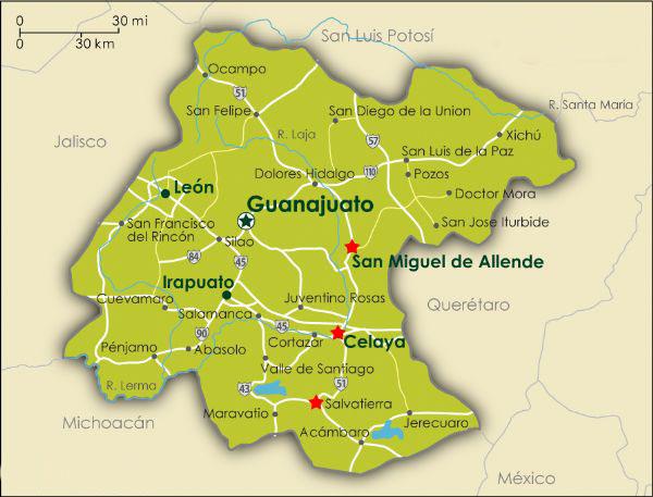 Celaya Map