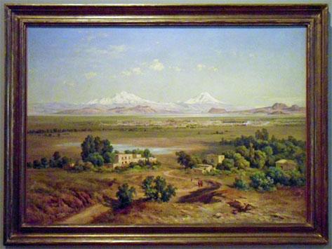 Mexican Landscape Painters Mexican Landscape Painter José